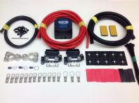 Heavy Duty Split Charge Kit with HC CARGO 12v 140amp VSR 110amp 16mm2 Cable 1-10mtrs